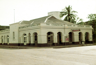 The former Commerical Bank of Australia, Darwin, c. 1977