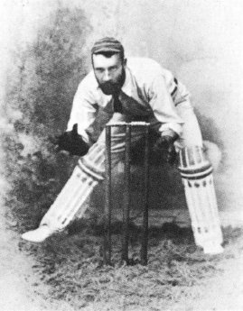 John McCarthy Blackham, member of the first Australian Test match team to play against England, 1876–77