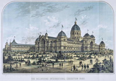 The Royal Exhibition Building, 1880