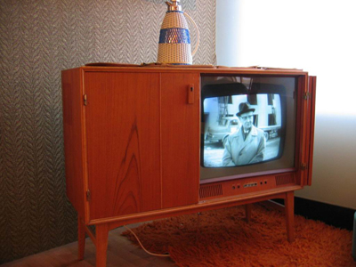 A television, c. 1950s