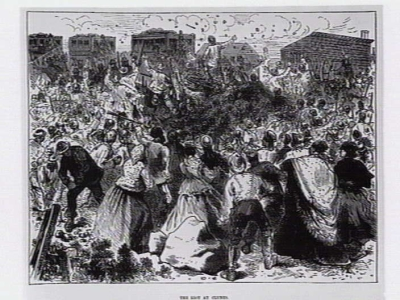 The riot at Clunes