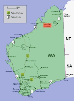Map Of North West Australia.1980s My Place For Teachers