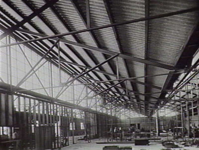 The interior of the Ford Australia plant in Geelong
